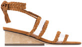 Ritch Erani NYFC Rit sandals - women - Wood/Leather/Suede - 36.5