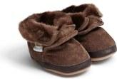Robeez 'Cozy' Ankle Bootie (Baby & Walker)