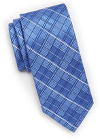 MICHAEL Michael Kors Textured Silk Windowpane Tie