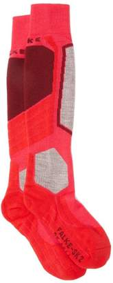 Falke Sk2 Knee-high Skiing Socks - Womens - Pink Multi