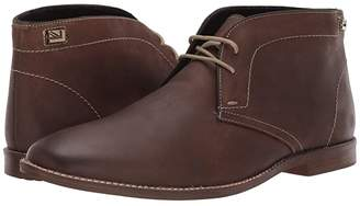 Ben Sherman Gaston Chukka (Dark Brown Leather) Men's Boots