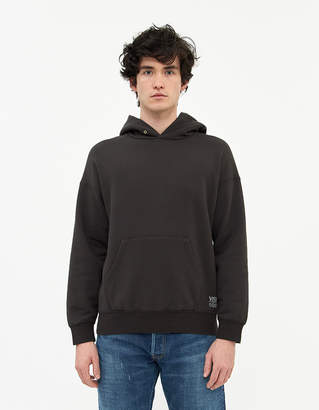 Visvim Men's Jumbo Hoodie PO in Black, Size 3 | 100% Cotton