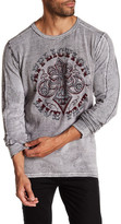 Affliction Reversible Long Sleeve Thermal Knit Tee