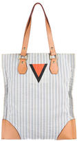 Louis Vuitton Striped Tanger Tote