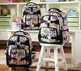 Pottery Barn Kids Mackenzie Black Butterfly Backpacks