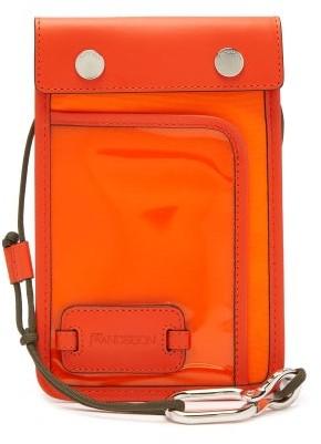 J.W.Anderson Pulley Logo-patch Cross-body Bag - Mens - Orange