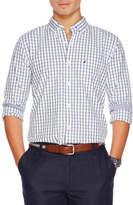 Nautica Long Sleeve Tattersal Shirt