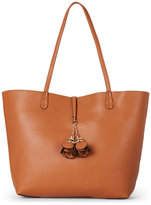 Imoshion Cognac & Teal Bag-In-Bag Reversible Tote