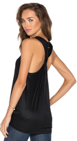 Halston Twist Back Tank