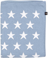Gant Baby Mini Star Throw - 90x120cm - Light Blue