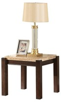 ACME Furniture Charissa End Table Aegean Light Brown Marble - ACME