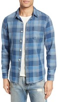 Current/Elliott Men's Classic Fit Check Plaid Sport Shirt