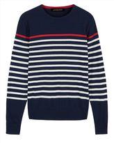 Pima Breton Stripe Sweater