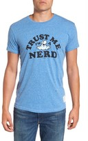 Original Retro Brand Men's Nerds Graphic T-Shirt