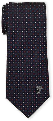 Versace Silk Pattern Tie