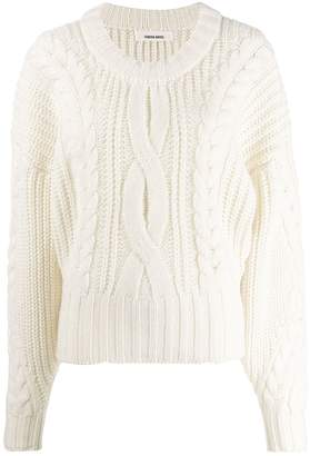 Circus Hotel oversized knitted sweater
