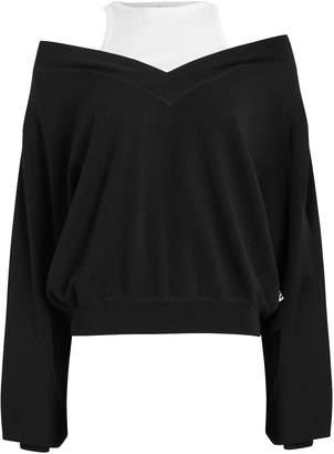 Alexander Wang Bi-Layer Wool Sweater
