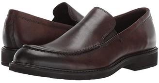 Ecco Vitrus III Moc Slip-On (Black) Men's Shoes
