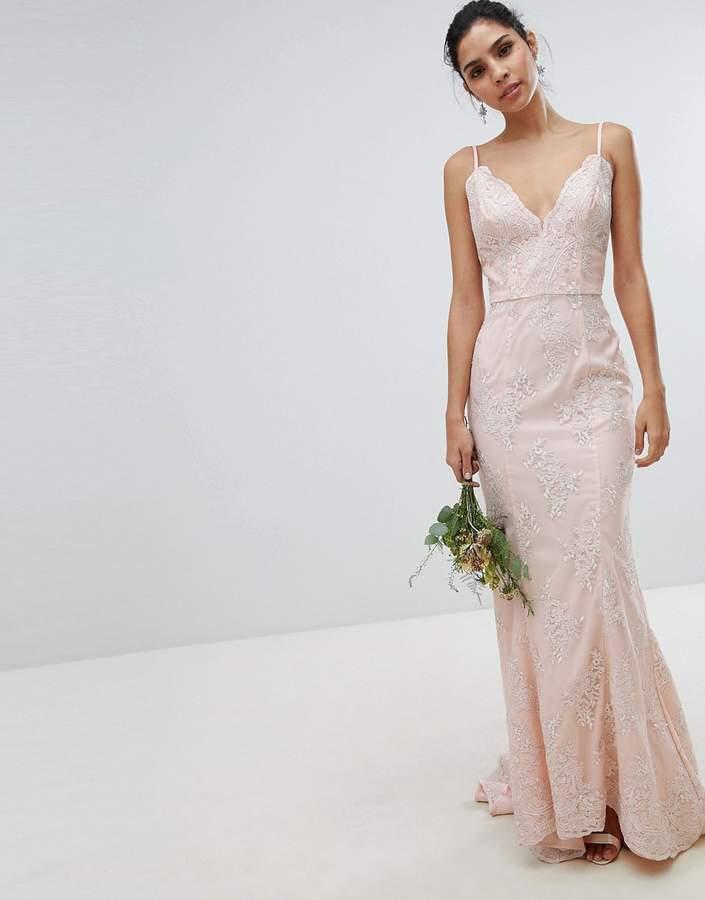 c4f2bd55210 Asos Wedding Lace Dress - ShopStyle