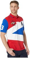 Polo Ralph Lauren Big Pony Classic Fit Polo (Red Multi) Men's Clothing
