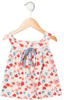 Bonpoint Girls' Floral Print Sleeveless Top
