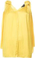 Smythe Knot Blouse - women - Polyester - S
