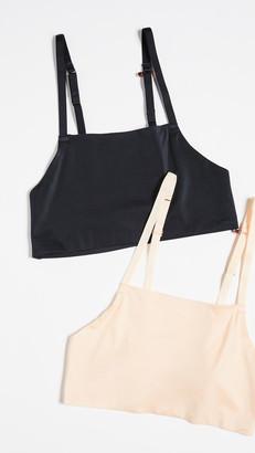 Real Underwear Fusion Bare Racerback Cami Bralette 2 Pack