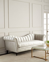 Haute House Hathaway Channel-Tufted Sofa