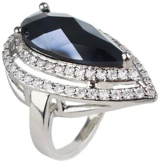 Cz By Kenneth Jay Lane Pear CZ Ring