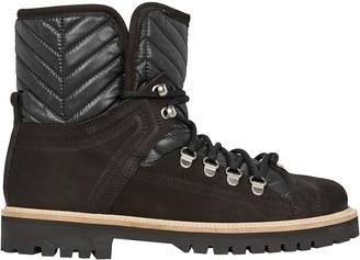 Ganni Winter Hiking Shearling Boots