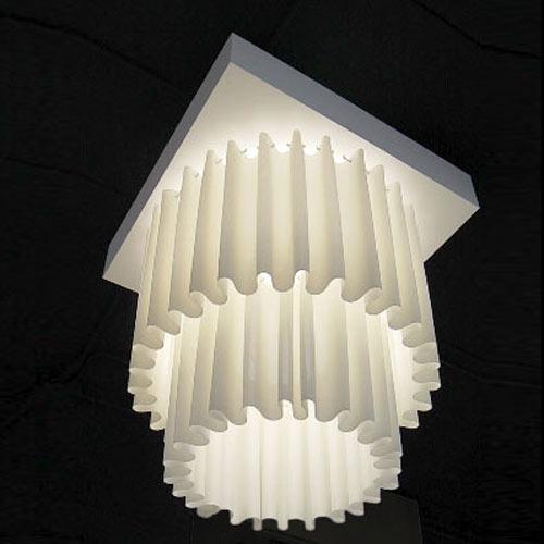 AXO Light Skirt Two-Tier Ceiling Light