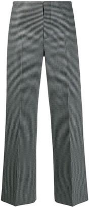 Maison Margiela Wide Leg Printed Trousers