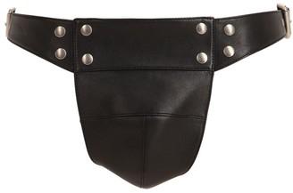 Gucci Adjustable Leather Jockstrap