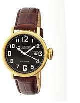 Heritor Men's HERHR3207 Olds Dark Brown Leather Watch