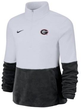 Nike Women's Georgia Bulldogs Therma Long Sleeve Quarter-Zip Pullover