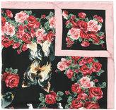 Dolce & Gabbana patterned neck scarf