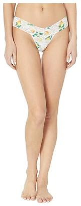 Hanky Panky Lemonade Low Rise Thong (Multi) Women's Underwear