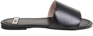 N°21 N 21 Black Leather Sandal
