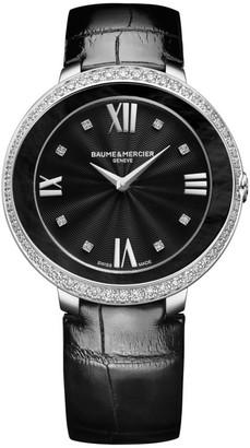 Baume & Mercier Promesse Stainless Steel & Alligator Strap Watch