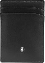 Montblanc Meisterstück leather 2cc holder with money clip