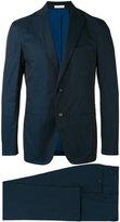 Boglioli stitched detail suit - men - Cotton/Spandex/Elastane/Acetate/Cupro - 50