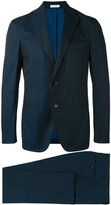 Boglioli stitched detail suit - men - Cotton/Spandex/Elastane/Acetate/Cupro - 52