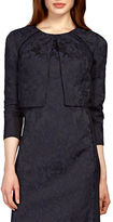 Kay Unger Jacquard Open Front Jacket