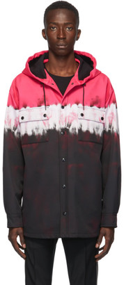 Valentino Black and Pink Tie-Dye Jacket