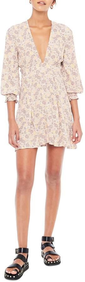 Faithfull The Brand Palmaro Floral Print Minidress