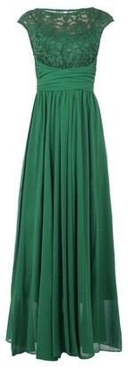 Dorothy Perkins Womens Jolie Moi Green Lace Detail Maxi Dress, Green