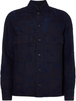 Vivienne Westwood Anglomania Berry Worker's Shirt In Blue Denim Size M