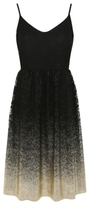 George Metallic Lace Dress
