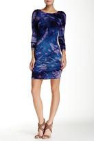 Gypsy 05 Gypsy05 Long Sleeve Shirred Mini Dress