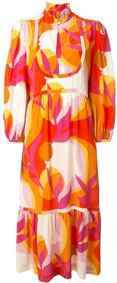 Rebecca Vallance Paradise printed midi dress